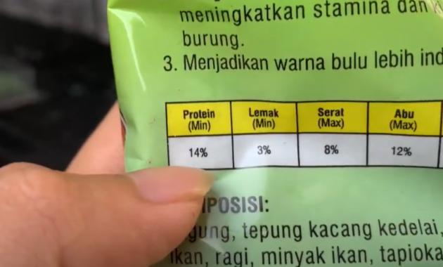 makanan-voer-jalak-suren